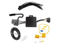 T-One Vehicle Wiring Harness | 4 Pole Flat Trailer Connector on